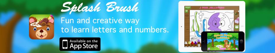 Splash Brush Colorbook